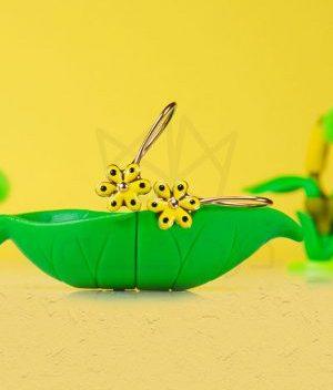 گوشواره کودک گل آفتابگردان